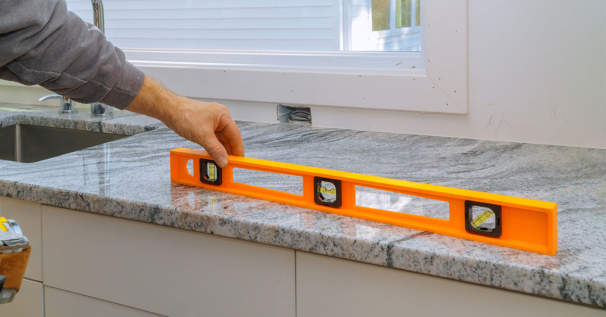 The Importance of Level Cabinets for New Countertops